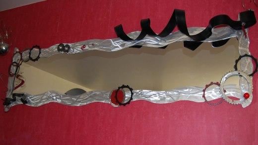 Miroir aluminium longueur 2m