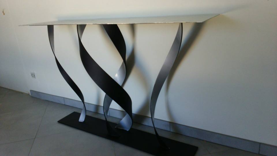 metal art design by jessica salmeron. Black Bedroom Furniture Sets. Home Design Ideas
